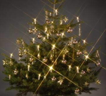 Trango TG340146 24x LED Weihnachtskerzen mit Stecksystem Innenbereich weiß leuchtend - 2