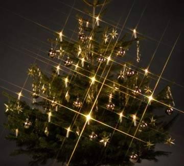 Trango TG340146 24x LED Weihnachtskerzen mit Stecksystem Innenbereich weiß leuchtend - 1