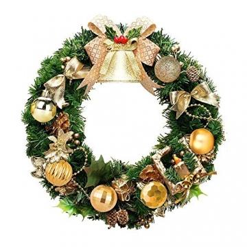 Weihnachtskugeln 34, Gold Weihnachtsbaumkugeln Kunststoff Weihnachtsbaum Kugeln Deko für Weihnachtsbaumschmuck, Bruchsichere Christbaumkugeln Christbaumschmuck Weihnachtsdeko für Weihnachten 4cm - 5