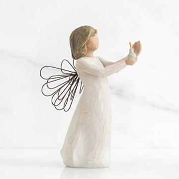 Willow Tree 26235 Figur Engel der Hoffnung, Angel of Hope, 3,8 x 3,8 x 14 cm - 4