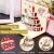 3D Geburtstagskarte, Pop Up Geburtstagskarten Grußkarte Geburtstag Karten mit 3 Schichten Kuchen, Gefaltete Happy Birthday Karte Glückwunschkarte Grußkarten mit Umschlag für Geburtstag Weihnachten - 4