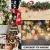 60 Stück weihnachtsdeko holz weihnachtsbaumschmuck basteln holzdeko weihnachten weihnachtsbaum deko, tannenbaum weihnachtsanhänger, christbaumschmuck holz ornamente Schneeflocke Weihnachtsdekoration - 3