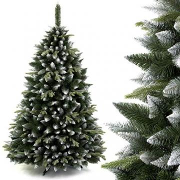 AmeliaHome 07911 250 cm Künstlicher Weihnachtsbaum PVC Tannenbaum Christbaum Kiefer Diana Weihnachtsdeko - 2