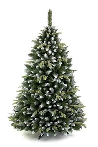 AmeliaHome 07911 250 cm Künstlicher Weihnachtsbaum PVC Tannenbaum Christbaum Kiefer Diana Weihnachtsdeko - 3