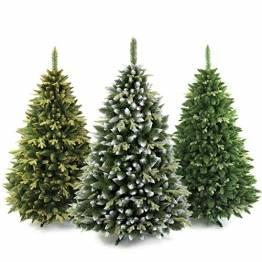 AmeliaHome 07911 250 cm Künstlicher Weihnachtsbaum PVC Tannenbaum Christbaum Kiefer Diana Weihnachtsdeko - 1