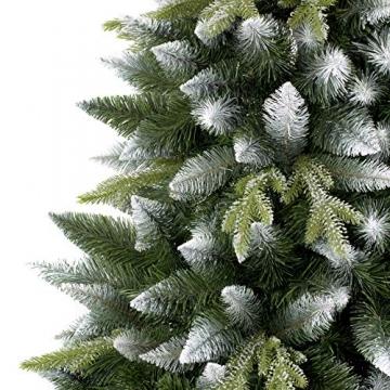 AmeliaHome 07911 250 cm Künstlicher Weihnachtsbaum PVC Tannenbaum Christbaum Kiefer Diana Weihnachtsdeko - 4