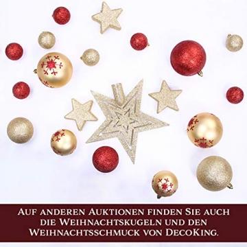 AmeliaHome 07911 250 cm Künstlicher Weihnachtsbaum PVC Tannenbaum Christbaum Kiefer Diana Weihnachtsdeko - 5