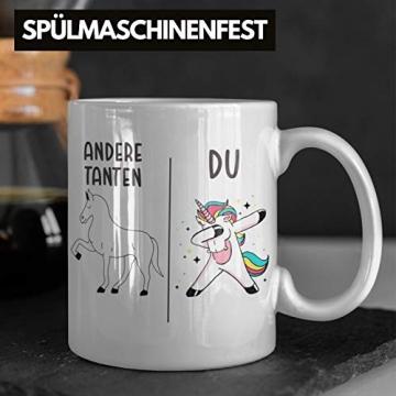 Beste Tante Geschenk Tasse mit Spruch Kaffeetasse für Tante - 4
