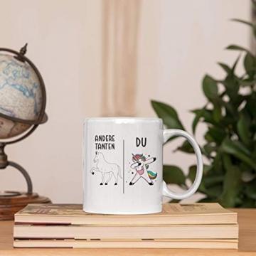 Beste Tante Geschenk Tasse mit Spruch Kaffeetasse für Tante - 6