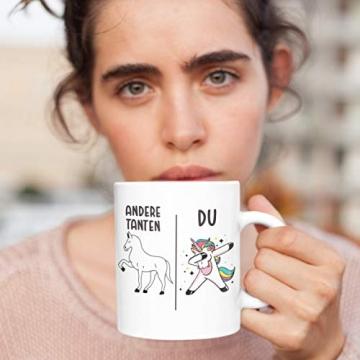 Beste Tante Geschenk Tasse mit Spruch Kaffeetasse für Tante - 8