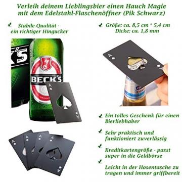 Bier Socken Herren + Flaschenöffner aus Edelstahl, Bier Geschenke für Herren, Geburtstagsgeschenk für Männer, Wenn Du das Lesen Kannst bring mir Bier (Schwarz Biersocken + Flaschenöffner Schwarz) - 5