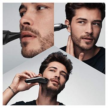 Braun 10-in-1-Trimmer MGK7220 Herren-Barttrimmer, Bodygrooming-Set und Haarschneider, grau/silber - 2