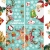 CheChury Fensterbilder für Weihnachten Netter Weihnachtsmann Selbstklebend Fensterdeko Fensterbilder Winter Statisch Haftende Aufkleber Dekoration Elche Wiederverwendbar Schneeflocken Fenster - 4
