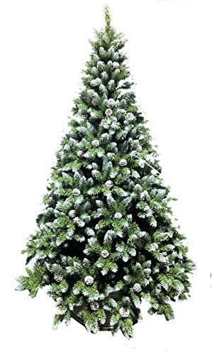 Coil Christbaum künstlicher Weihnachtsbaum Christbaum PVC Tannenbaum künstlich Kiefer 180/210 (210cm) - 1