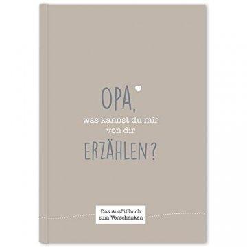 CUPCAKES & KISSES® Opa was kannst du mir erzählen I Buch zum ausfüllen I Geschenke für Opa I Geschenk für deinen Opa zum Geburtstag oder Weihnachten - 1