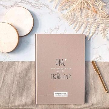 CUPCAKES & KISSES® Opa was kannst du mir erzählen I Buch zum ausfüllen I Geschenke für Opa I Geschenk für deinen Opa zum Geburtstag oder Weihnachten - 8