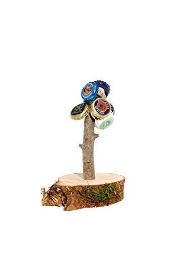 Deggelbam das Original 2.0 – Genialer Baum mit extra starkem Magnet für 50 Kronkorken als witziges Geschenk für Männer oder Partyraum-Ausstattung & Bardeko – Handgemacht in Bayern - 3