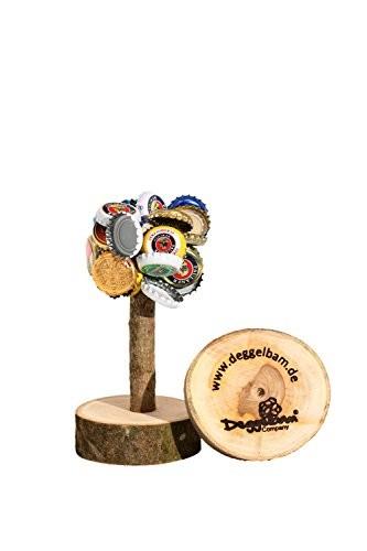 Deggelbam das Original 2.0 – Genialer Baum mit extra starkem Magnet für 50 Kronkorken als witziges Geschenk für Männer oder Partyraum-Ausstattung & Bardeko – Handgemacht in Bayern - 4