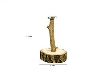 Deggelbam das Original 2.0 – Genialer Baum mit extra starkem Magnet für 50 Kronkorken als witziges Geschenk für Männer oder Partyraum-Ausstattung & Bardeko – Handgemacht in Bayern - 5