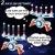 Elektrische Hover Zielscheibe für Nerf Pistole, Digitales Ball Ziel mit 1 Spielzeug Waffe, 10 schwimmende Kugel, 40 Schaumstoffpfeile, Kinder Gewehr mit Munition, Schießspiel Geschenk 6-15 Jahre Junge - 4