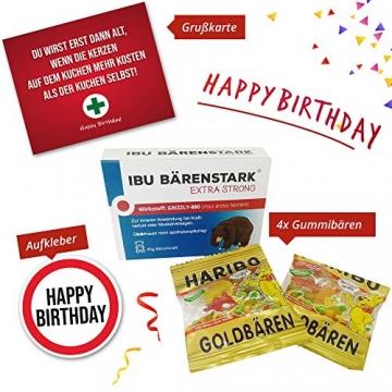 Geburtstagsgeschenk - Aller Erste Hilfe Set Geschenk-Box, witziger Sanikasten   Das Original   Scherzartikel zum Geburtstag (Deutsch) - 6