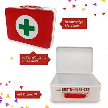 Geburtstagsgeschenk - Aller Erste Hilfe Set Geschenk-Box, witziger Sanikasten   Das Original   Scherzartikel zum Geburtstag (Deutsch) - 7
