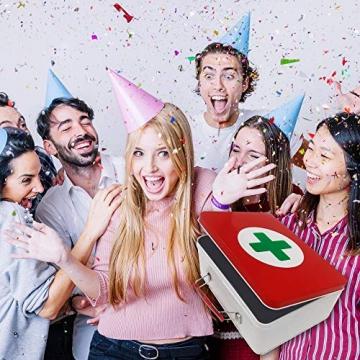 Geburtstagsgeschenk - Aller Erste Hilfe Set Geschenk-Box, witziger Sanikasten   Das Original   Scherzartikel zum Geburtstag (Deutsch) - 8