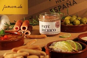 Geschenkkorb Olé mit spanischen Delikatessen I Präsentkorb gefüllt mit ausgesuchten Tapas-Klassikern & Rotwein aus Spanien - 5