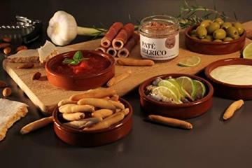 Geschenkkorb Olé mit spanischen Delikatessen I Präsentkorb gefüllt mit ausgesuchten Tapas-Klassikern & Rotwein aus Spanien - 7