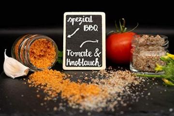 GLOSA MARINA Gourmet Salze, Salz aus Mallorca als ideales Gewürze Geschenkset/Salzset besondere Geschenke aus Meersalz, 8 x 25 g, 200 g - 3