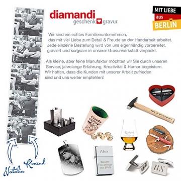Hammer mit Gravur: OPA - Du bist der HAMMER! | deutsches Qualitätswerkzeug in Berlin graviert | verdammt praktisches Geschenk für den besten Großvater der Welt - 5