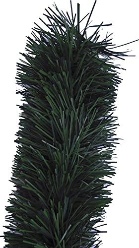 Handel24NET Excellente 5m künstliche Dekogirlande im Tannengrün - flexibel einsetzbar im Innen- und Aussenbereich - Diese Tannengirlande erfreut die ganze Familie - 2