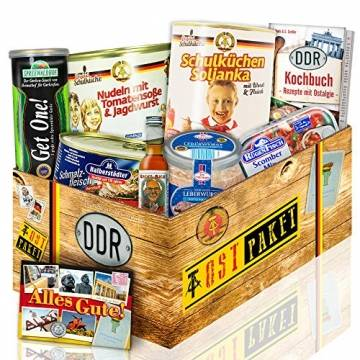Herzhafte DDR Geschenkbox für Männer - DDR Waren - Geschenkbox aus dem Osten - 1