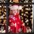HIQE-FL Fensterbilder Weihnachten Selbstklebend, Schneeflocken Fensterdeko, Fensterbild Weihnachten, Weihnachts Fensterbilder, für Türen Schaufenster Vitrinen Glasfronten - 4