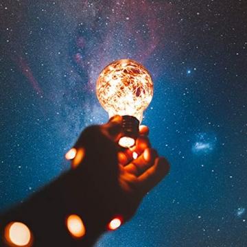 Koopower 2 Stk 100er LED Lichterkette Batterie mit Fernbedienung & Timer, 8 Modi IP65 Wasserdicht, Sternen Lichterketten für Weihnacht,Hochzeit,Party,Garten und Haus Deko-Warmweiß, 2er, HG4020 - 2