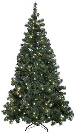 """LED-Weihnachtsbaum """"""""Ottawa"""""""", beleuchtet, indoor/outdoor IP44, ca.210 cm, 260 warmweiße LED`s, incl. Fuß - 1"""