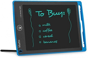 mafiti LCD Schreibtafel für Kinder, Handschrift Notizblock, Zeichnung Boards Schreibtafel für Kinder, Doodle Board, Writing Tablet, Geschenk für Kinder Erwachsene Home School Office (8,5 Zoll Blau) - 2