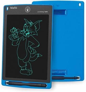 mafiti LCD Schreibtafel für Kinder, Handschrift Notizblock, Zeichnung Boards Schreibtafel für Kinder, Doodle Board, Writing Tablet, Geschenk für Kinder Erwachsene Home School Office (8,5 Zoll Blau) - 1