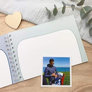 mintkind Erinnerungsbuch Mein Onkel und Ich I Momente und Erinnerungen festhalten I Fotoalbum Geschenkidee DIY - 8