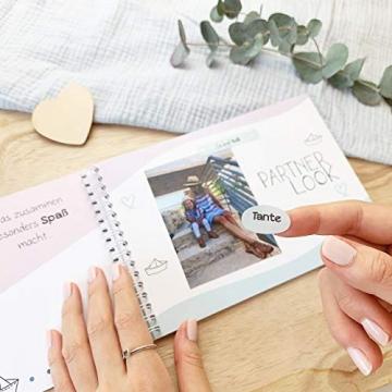 mintkind Erinnerungsbuch Meine Tante und Ich I Momente und Erinnerungen festhalten I Fotoalbum Geschenkidee DIY - 5