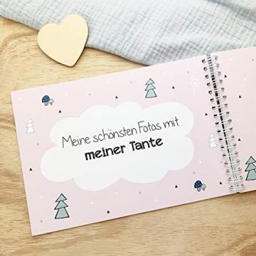 mintkind Erinnerungsbuch Meine Tante und Ich I Momente und Erinnerungen festhalten I Fotoalbum Geschenkidee DIY - 7