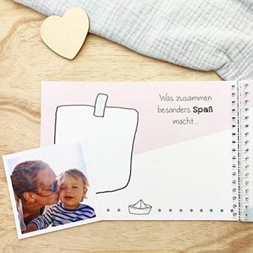 mintkind Erinnerungsbuch Meine Tante und Ich I Momente und Erinnerungen festhalten I Fotoalbum Geschenkidee DIY - 8