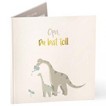 """mintkind®""""Opa du bist toll"""" Geschenk-buch für Opa I Geschenk für Opa I Bilderbuch als Geschenk für die Opa zum Geburtstag, zu Weihnachten oder als Dankeschön Geschenk - 1"""
