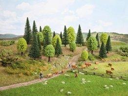 NOCH 26911 - Mischwald, 10 Bäume, 5-14 cm hoch - 1