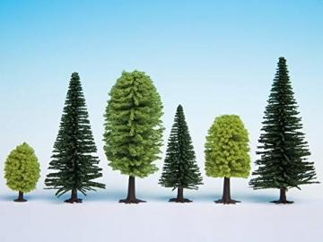 NOCH 26911 - Mischwald, 10 Bäume, 5-14 cm hoch - 2