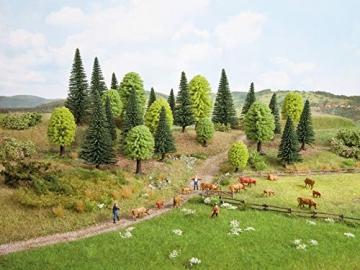 NOCH 26911 - Mischwald, 10 Bäume, 5-14 cm hoch - 3
