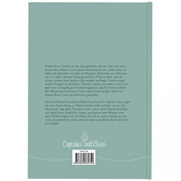 Opa, was kannst du mir von dir erzählen?: Das Ausfüllbuch zum Verschenken (türkisblau) - 2