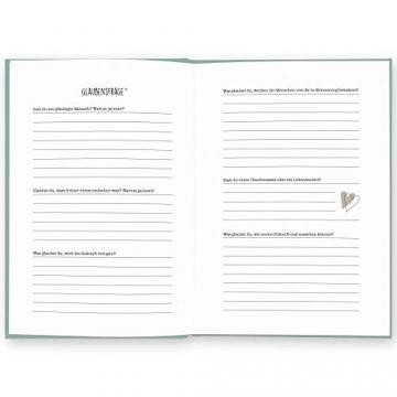 Opa, was kannst du mir von dir erzählen?: Das Ausfüllbuch zum Verschenken (türkisblau) - 8