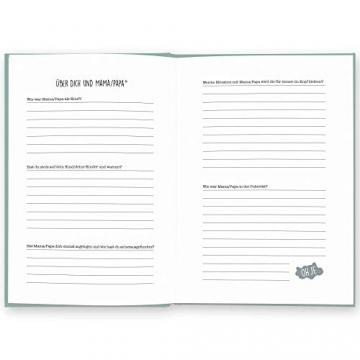 Opa, was kannst du mir von dir erzählen?: Das Ausfüllbuch zum Verschenken (türkisblau) - 9