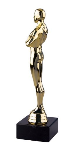 Pokal Bester Onkel der Welt Geschenk - Siegerfigur Viktor 24 cm - 2